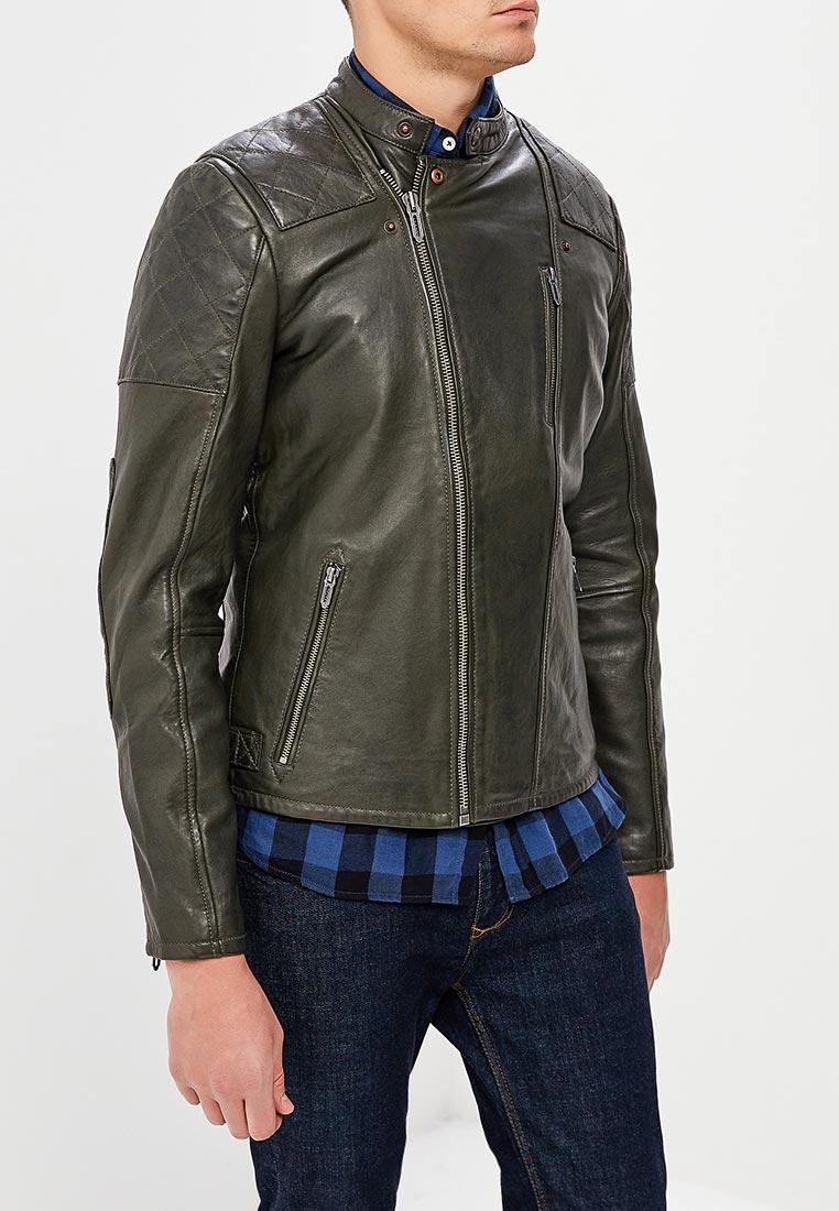 Кожаная куртка Pepe Jeans (Пепе Джинс) PM401543