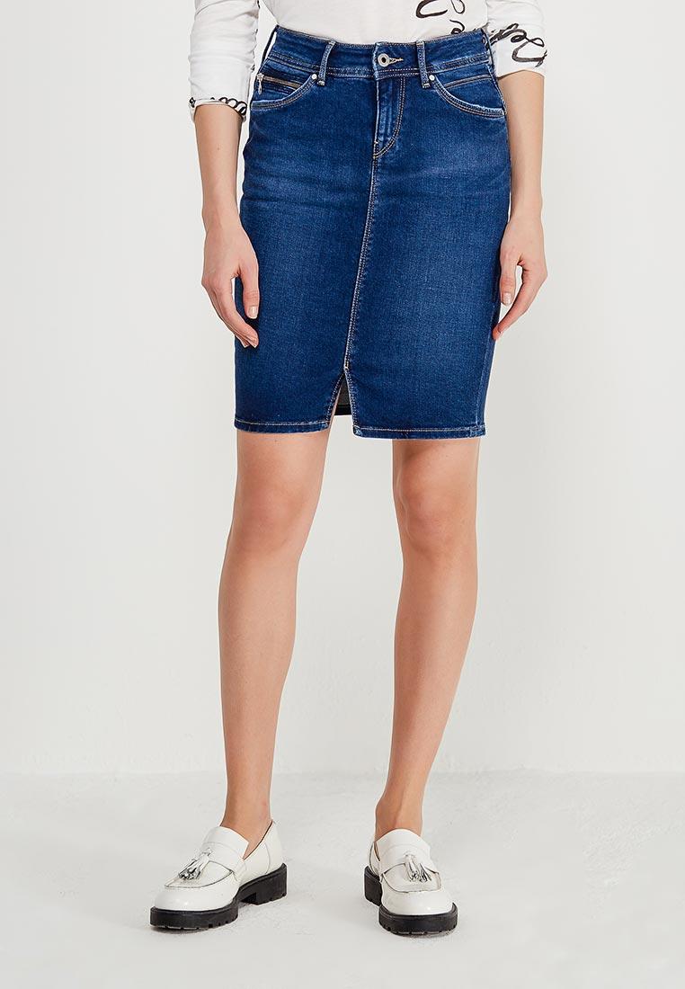 Мини-юбка Pepe Jeans (Пепе Джинс) PL900443CE3