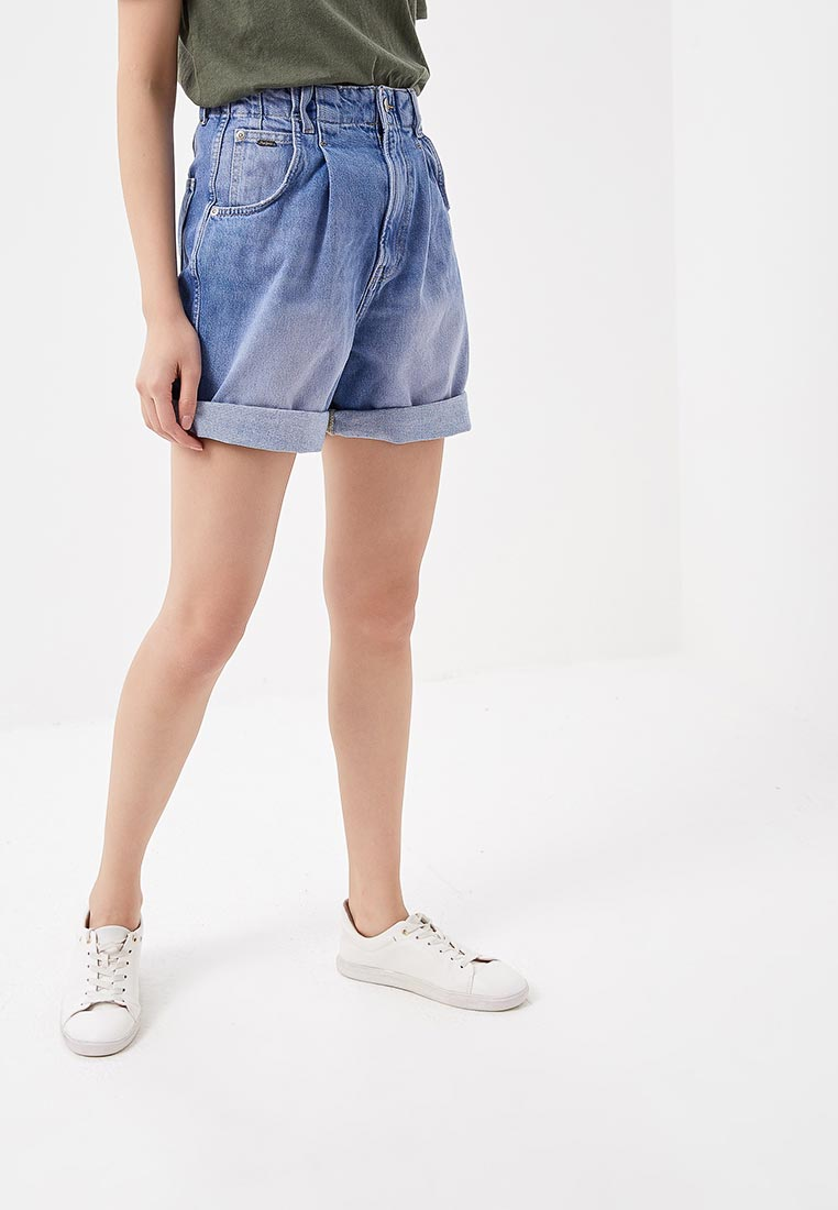 Женские джинсовые шорты Pepe Jeans (Пепе Джинс) PL800726