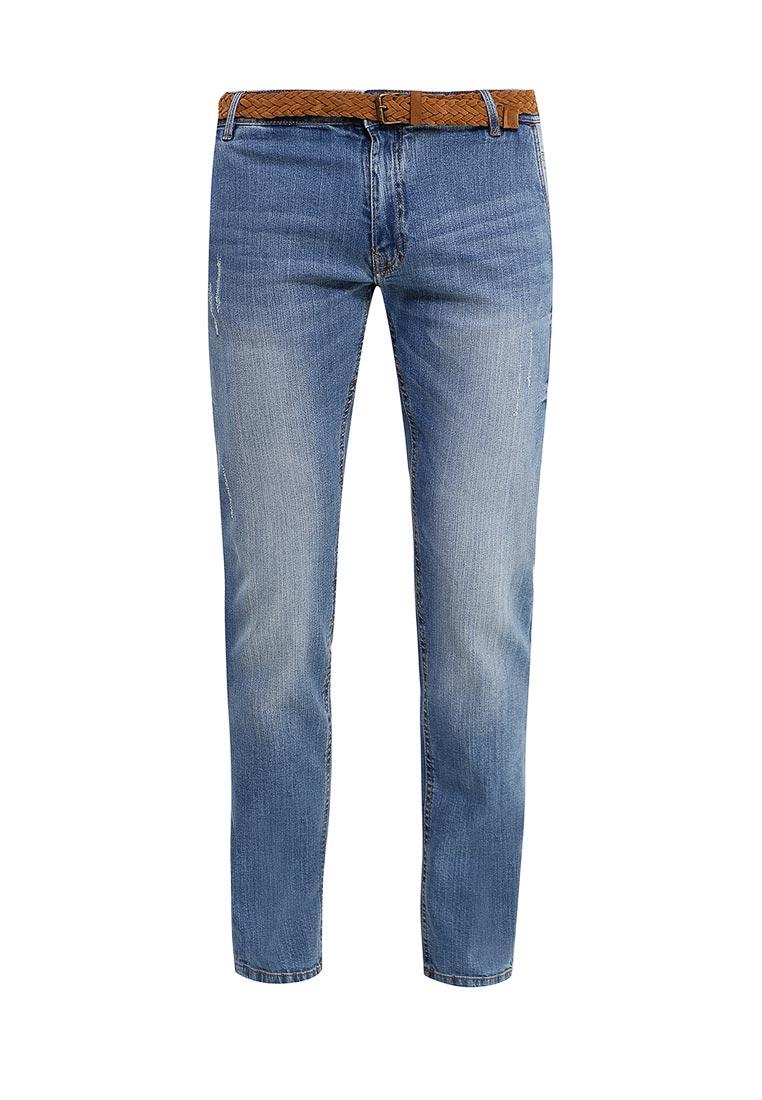 Мужские прямые джинсы Piazza Italia (Пиазза Италия) 87950