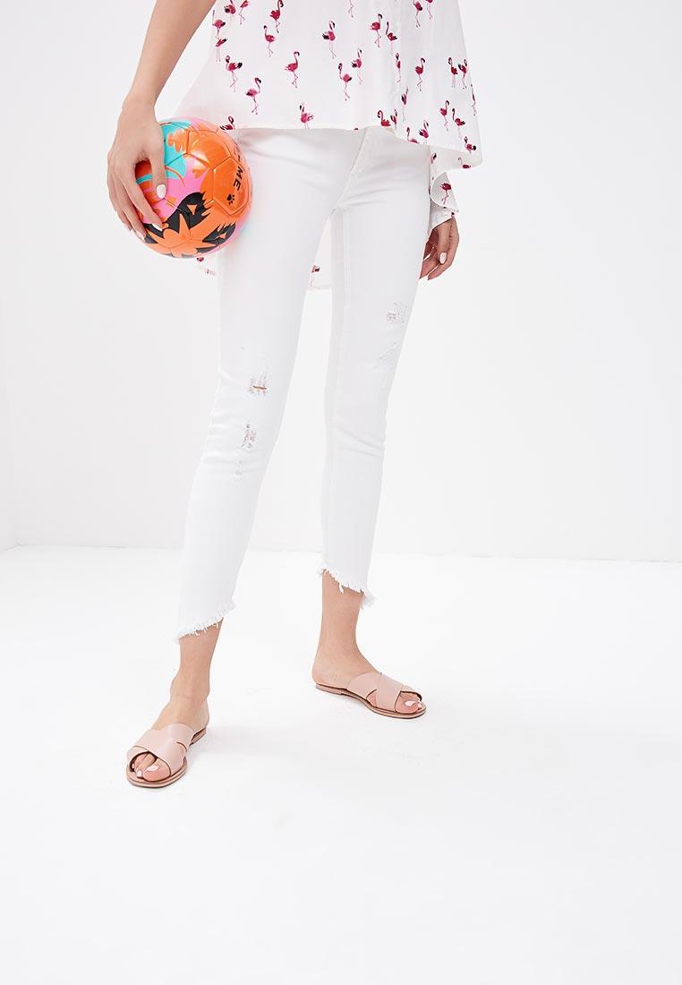 Зауженные джинсы Pink Woman 3101.118