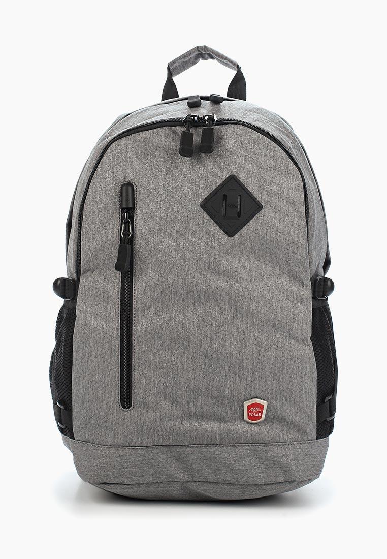 Рюкзак Polar 16015 серый