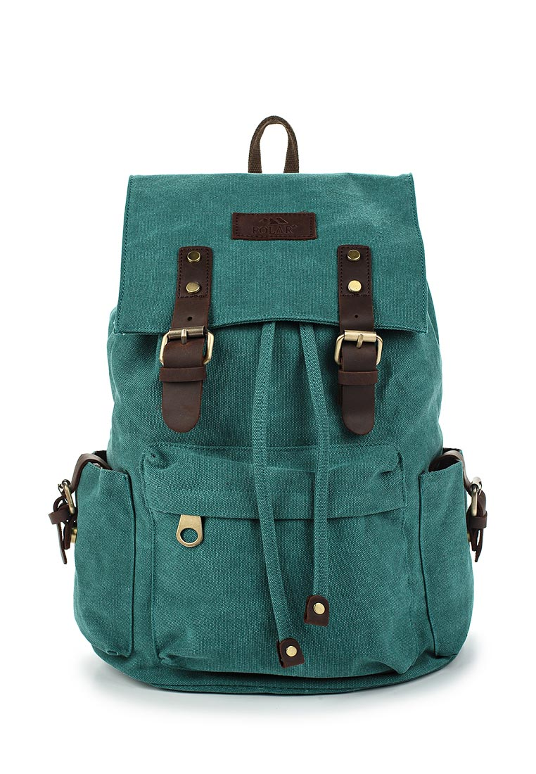 Городской рюкзак Polar П3062-09 зеленый