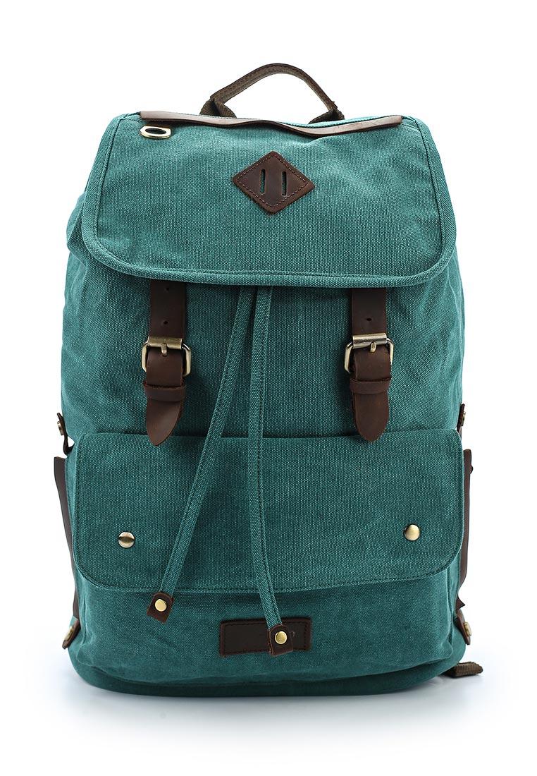Городской рюкзак Polar П3063-09 зеленый