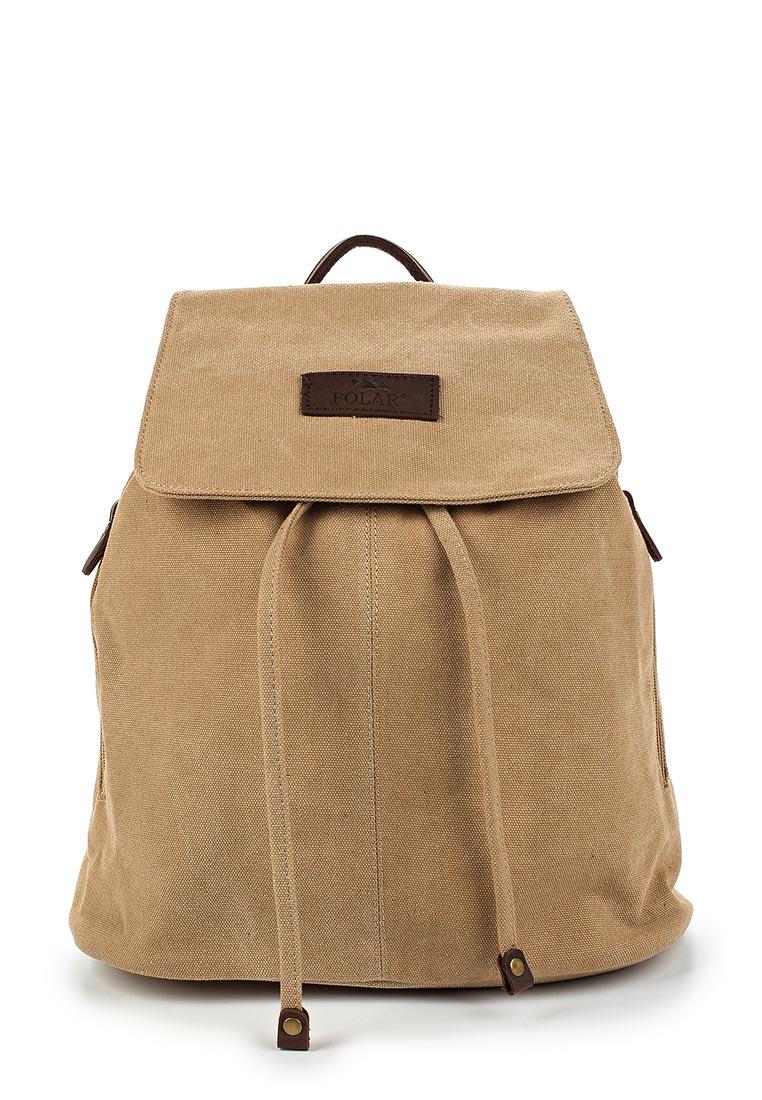 Городской рюкзак Polar П7005-13 бежевый