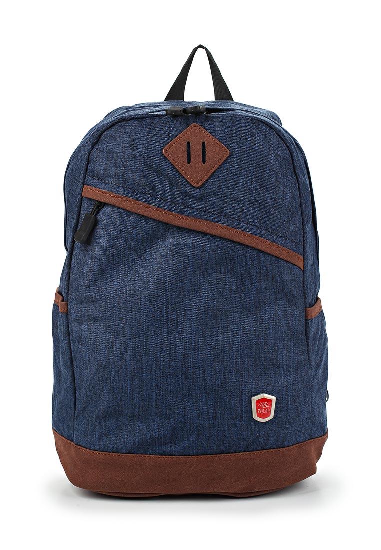 Городской рюкзак Polar 16012 темно-синий