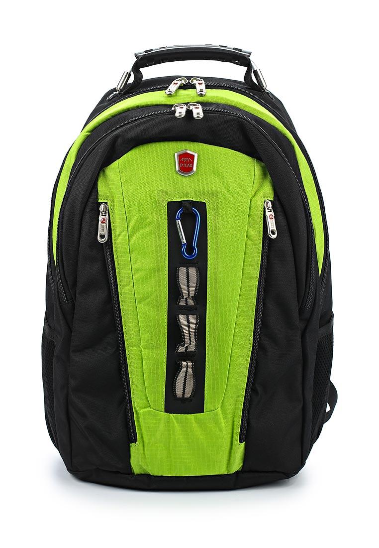 Городской рюкзак Polar 983049 зеленый