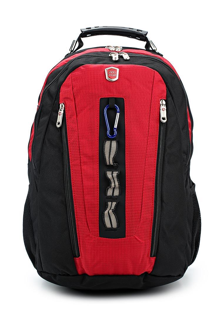 Городской рюкзак Polar 983049 красный