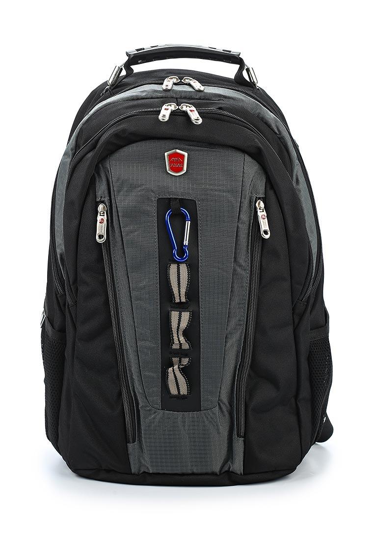 Городской рюкзак Polar 983049 темно-серый