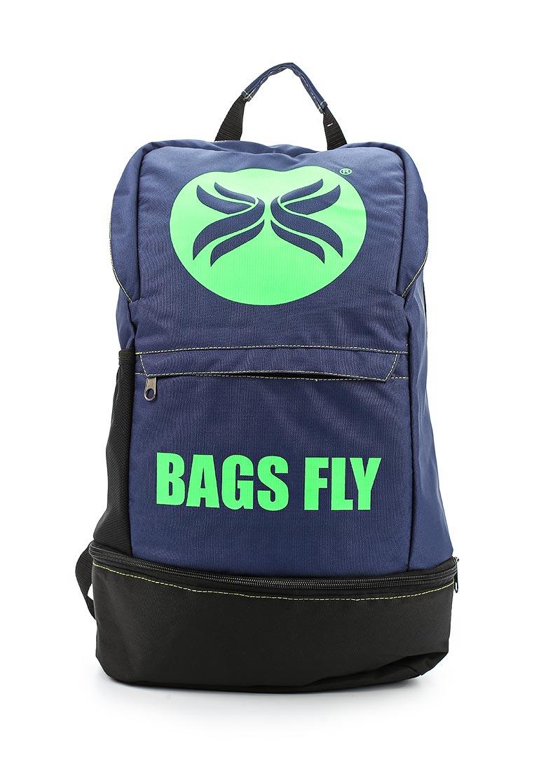 Городской рюкзак Polar П8020-10 сине-зеленый