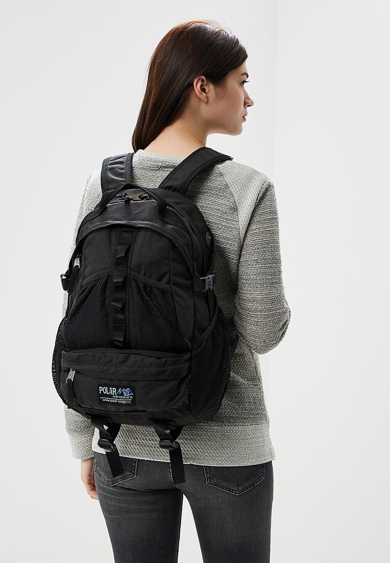 Городской рюкзак Polar П909-05 черный: изображение 2