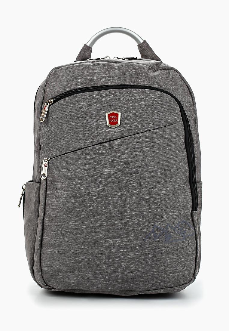 Городской рюкзак Polar П5112-06 серый