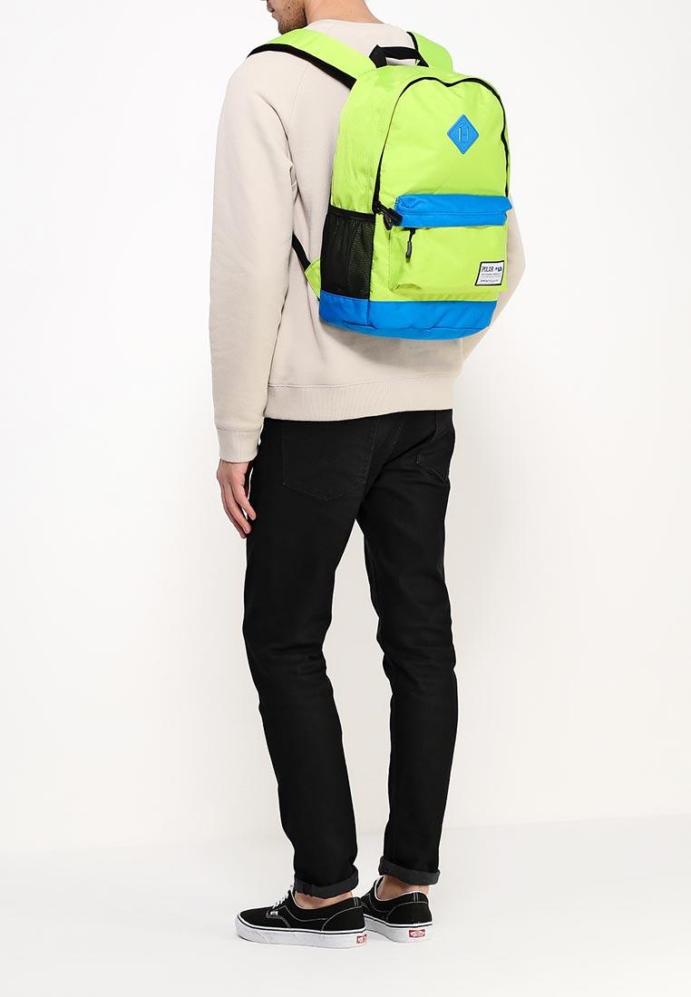 Рюкзак Polar 15008 Green-Blue