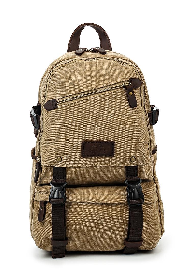 Городской рюкзак Polar П1640-13 бежевый
