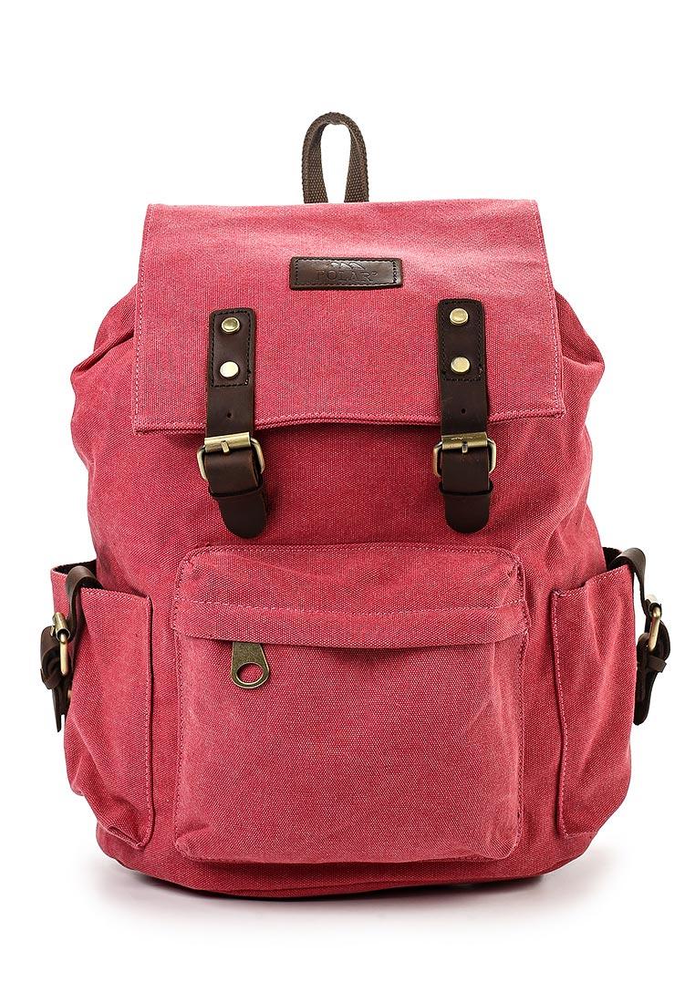 Городской рюкзак Polar П3062-01 красный
