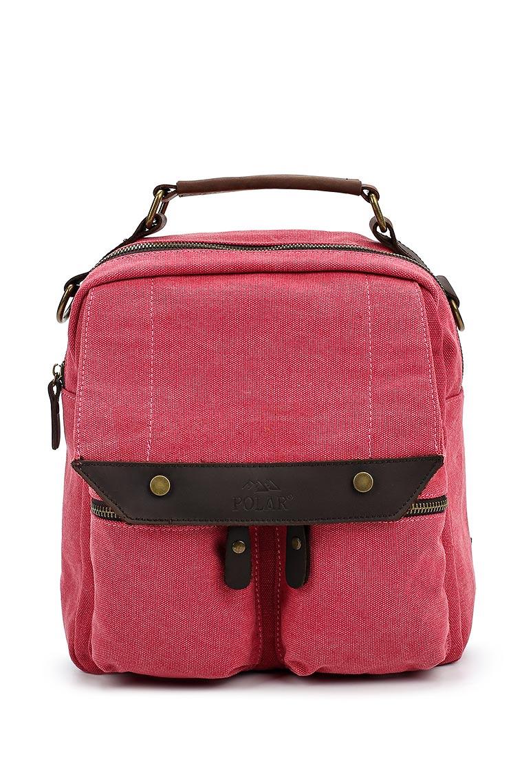 Городской рюкзак Polar П1449-01 красный