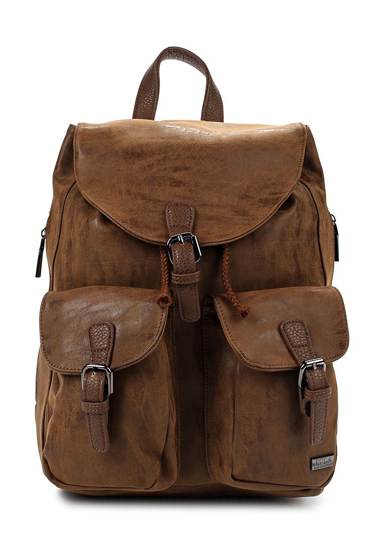 Городской рюкзак Pola 68501 D.Brown