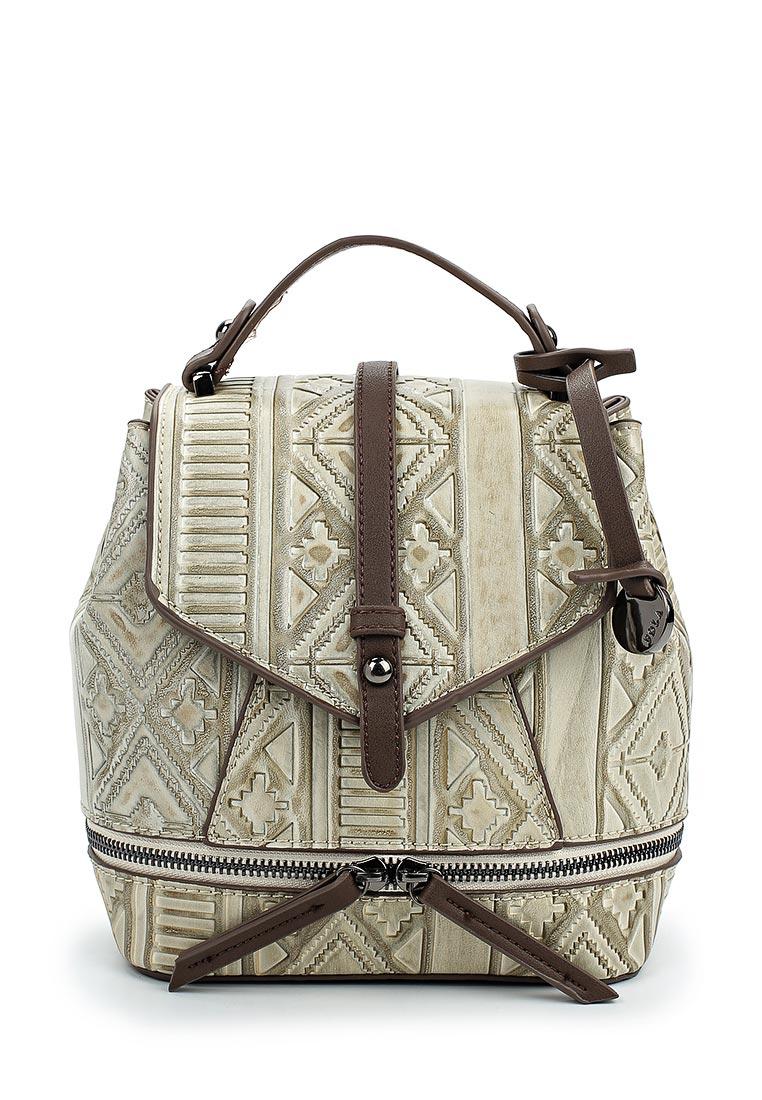 Городской рюкзак Pola 74505 Apricot/Brown
