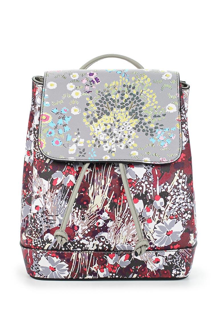 Городской рюкзак Pola 74509 Grey/Red