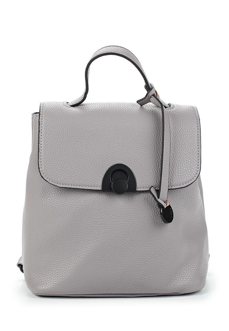Городской рюкзак Pola 74514 Grey/Blue