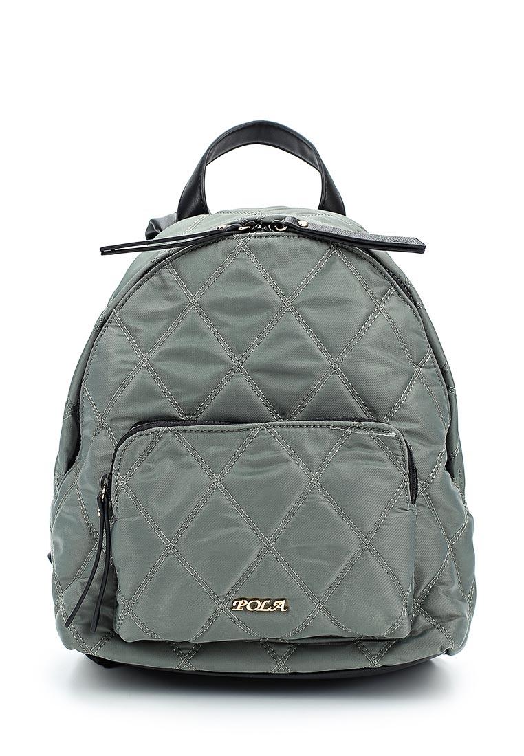 Городской рюкзак Pola 74526 Grey.Green