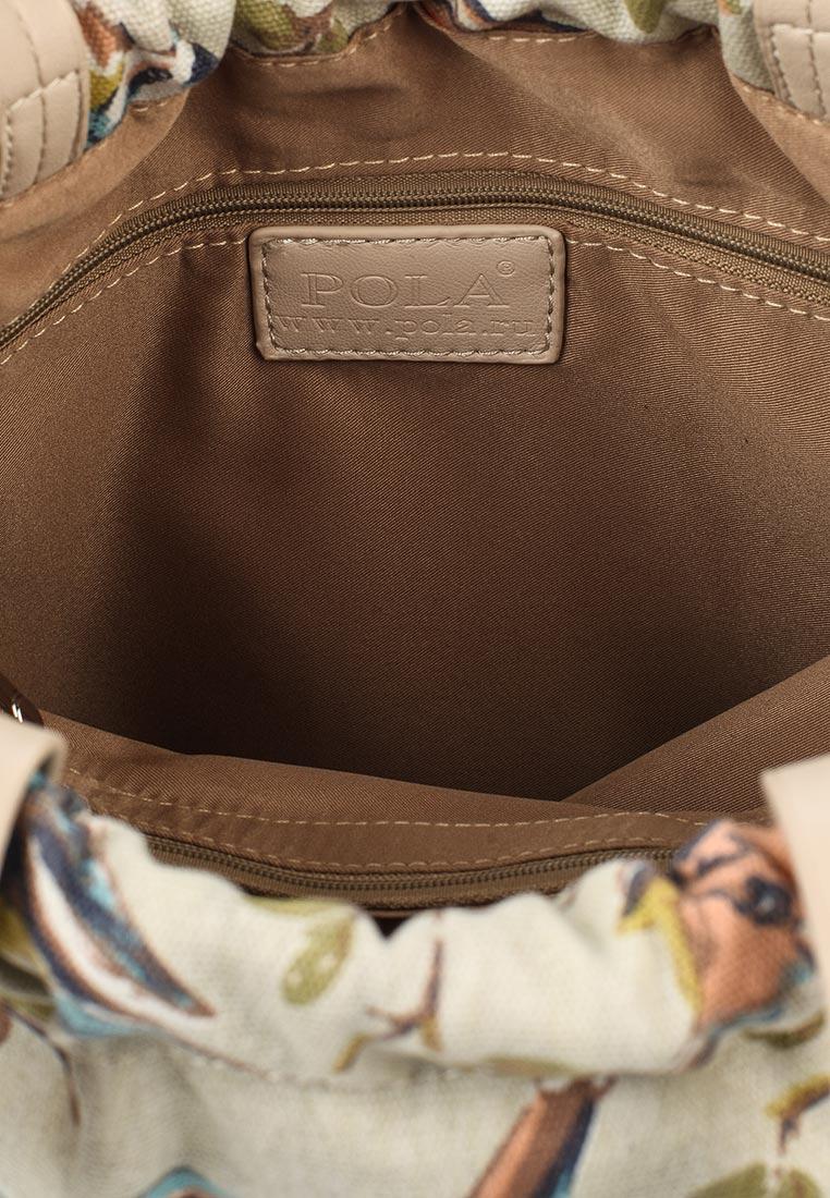Городской рюкзак Pola 4350 Beige: изображение 4