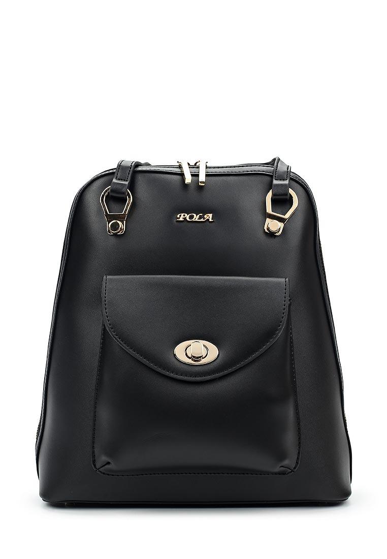 Городской рюкзак Pola 69050 Black