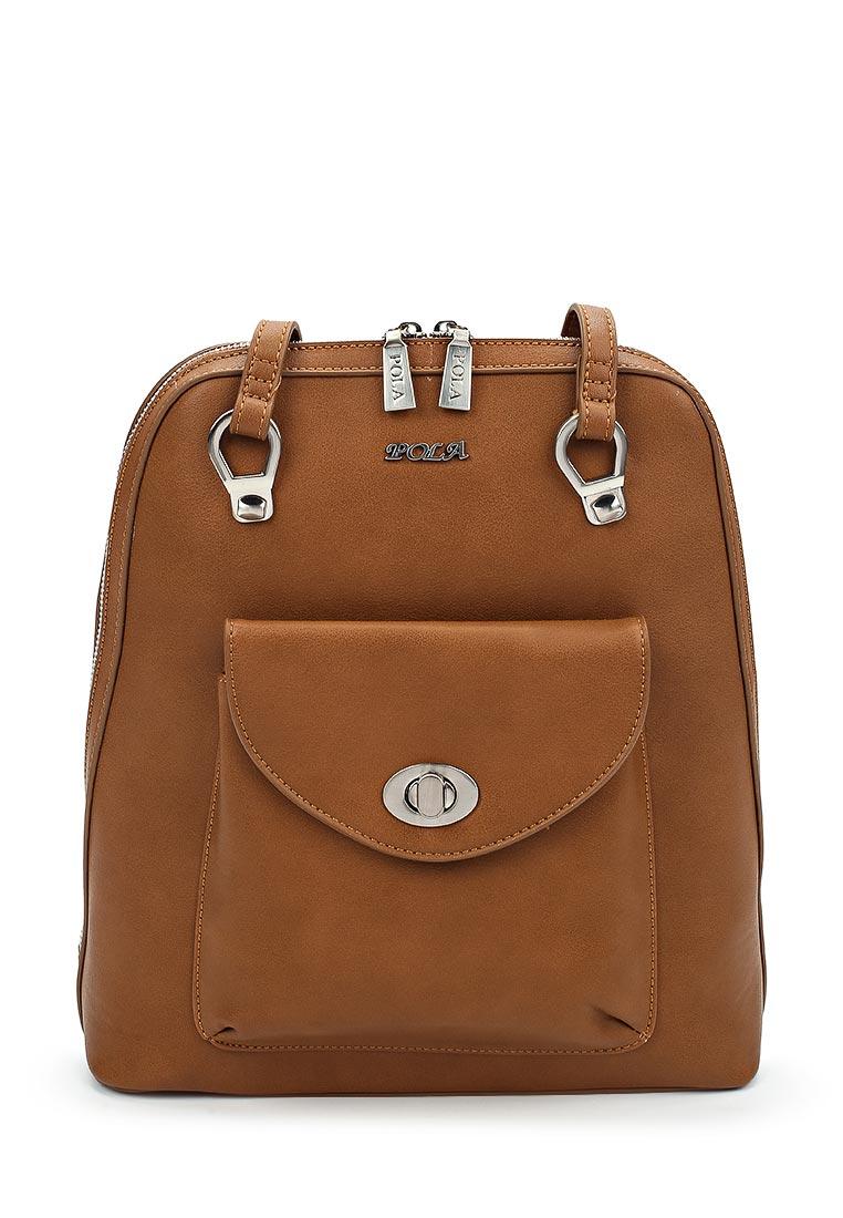 Городской рюкзак Pola 68307 Brown