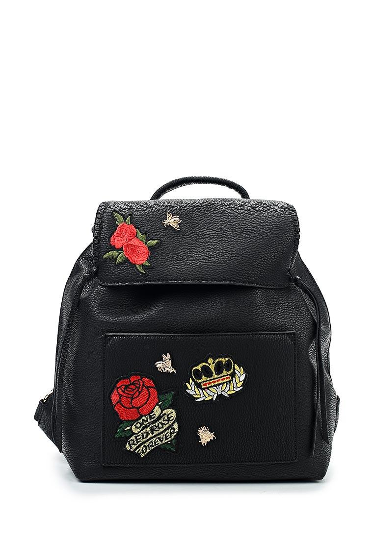 Городской рюкзак Pola 74495 Black/Flower