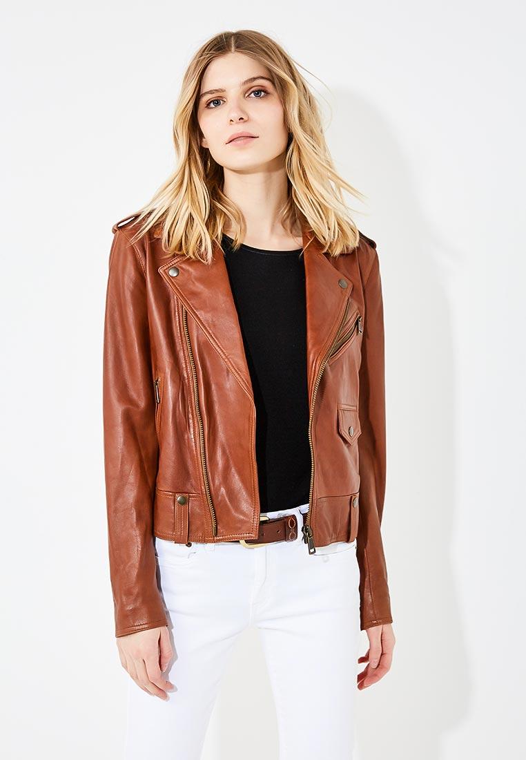 Кожаная куртка Polo Ralph Lauren 211684230001