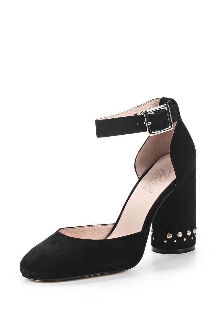 Женские туфли Portal PRL1130-01 black-18L