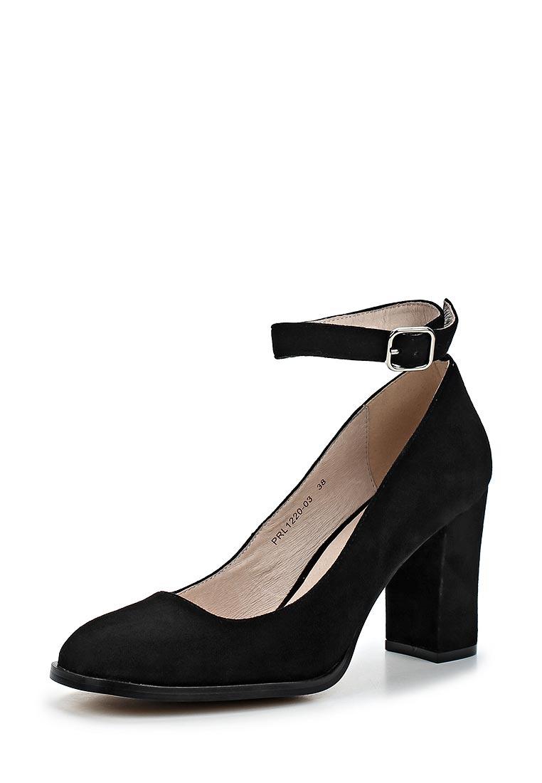 Женские туфли Portal PRL1220-03 black-18L