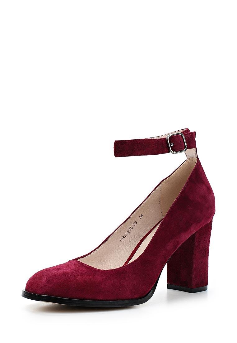 Женские туфли Portal PRL1220-03 bordeaux-18L
