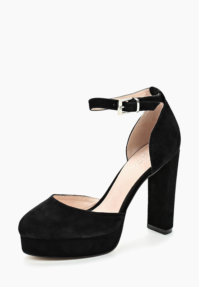 Женские туфли Portal PRL1609-01 black-18L