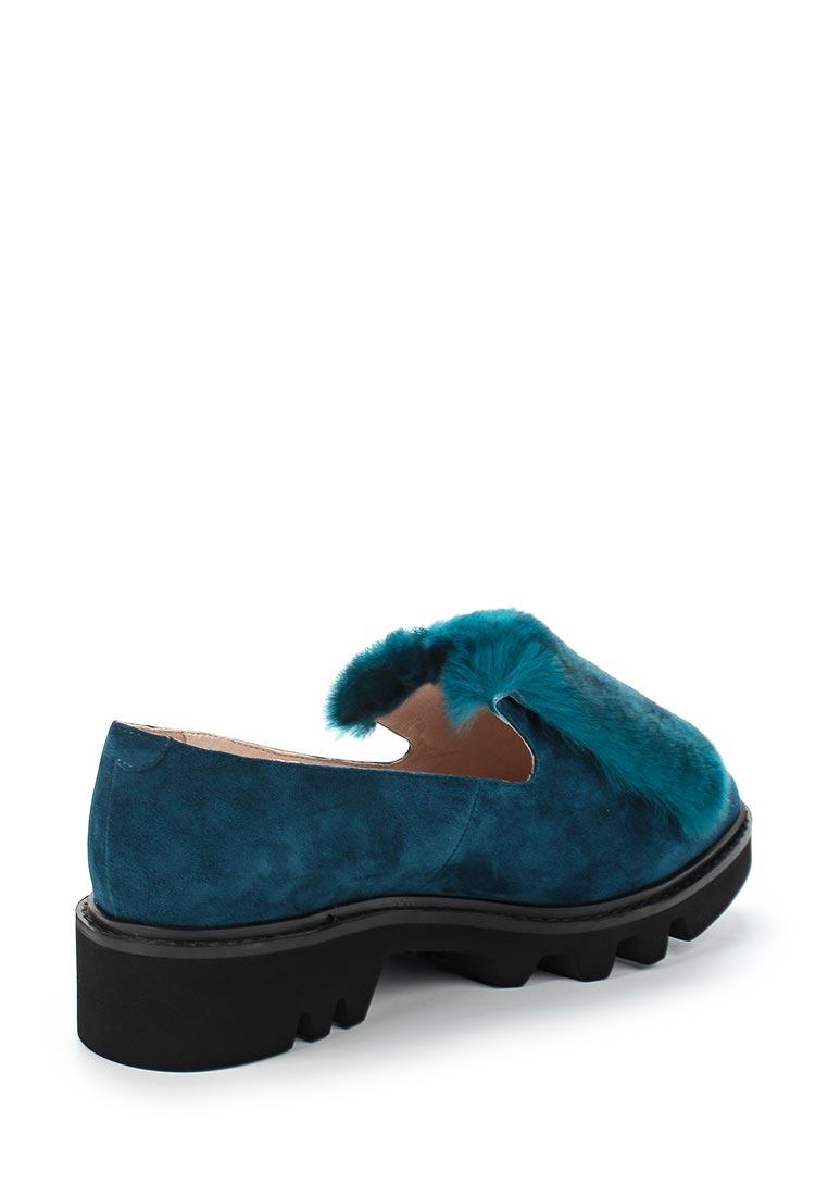 Женские лоферы Portal PRL1169-01 turquoise-17Z: изображение 2