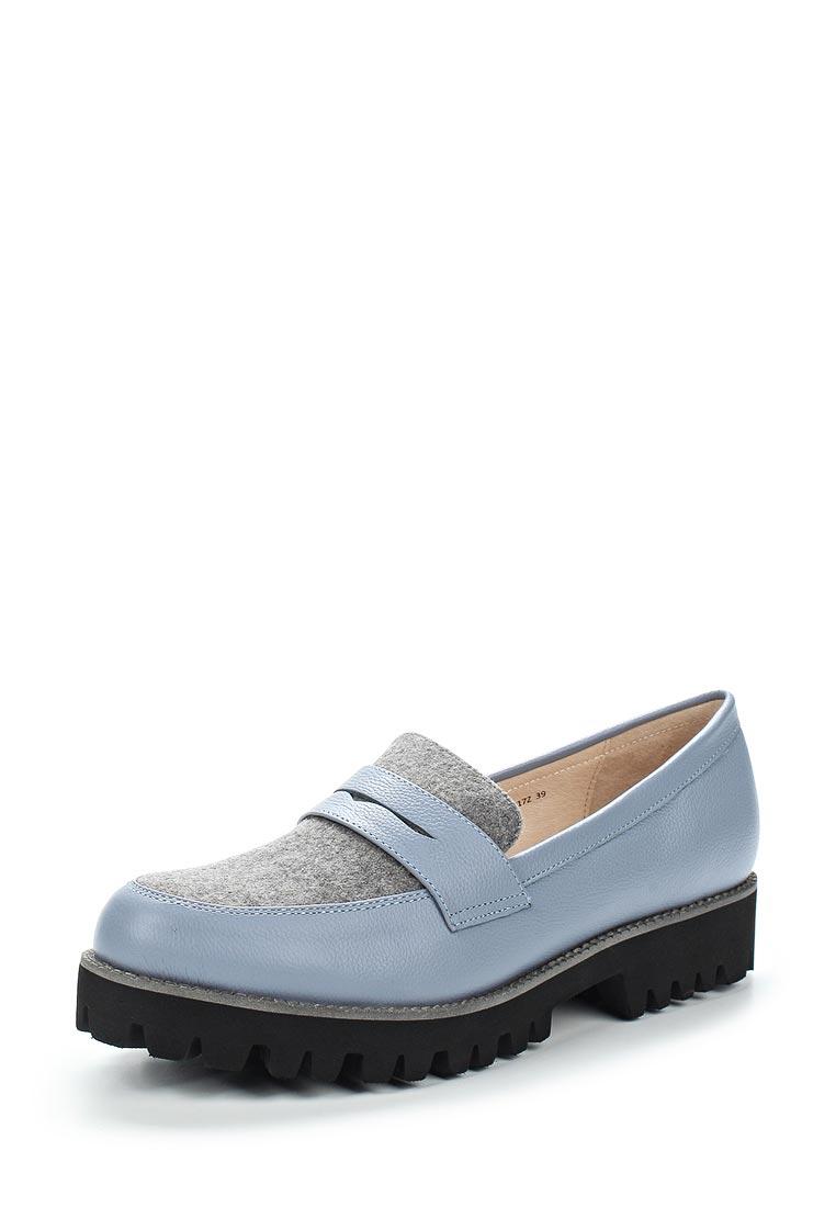 Женские лоферы Portal PRL1479-04 blue/grey-17Z