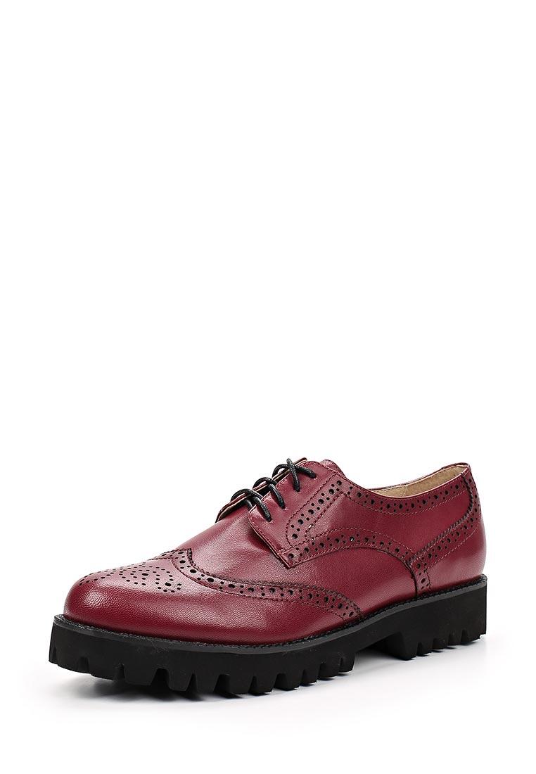Женские ботинки Portal PRL1479-07 bordeaux-17Z