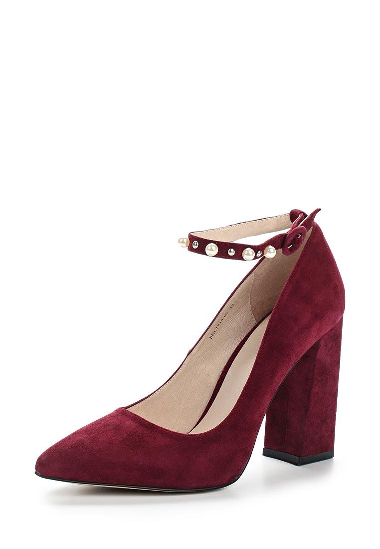 Женские туфли Portal PRL1614-05 bordeaux-17Z