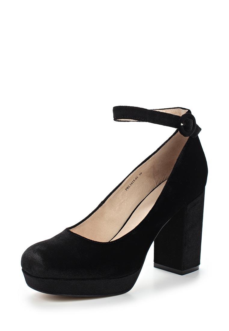 Женские туфли Portal PRL1615-01 black-17Z