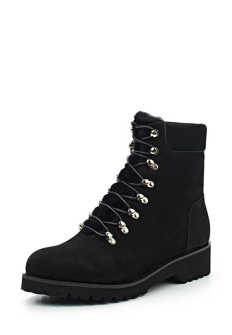 Женские ботинки Portal PRL1681-21 black-17Z