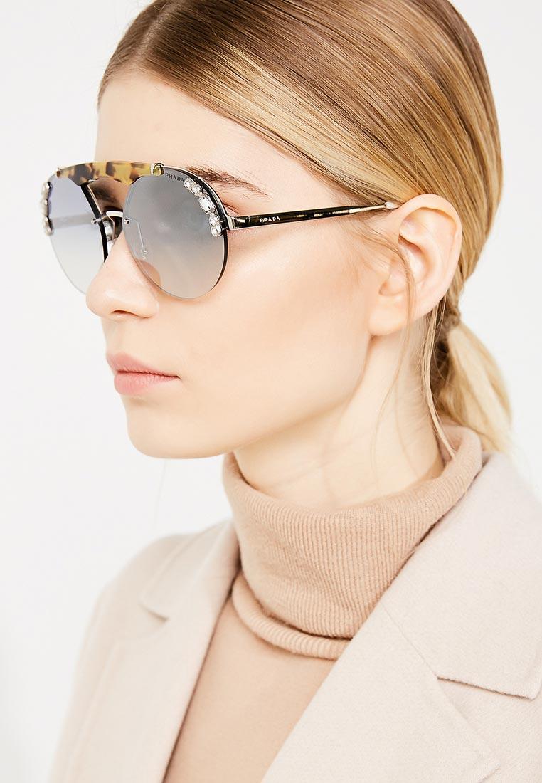 Женские солнцезащитные очки Prada (Прада) 0PR 52US