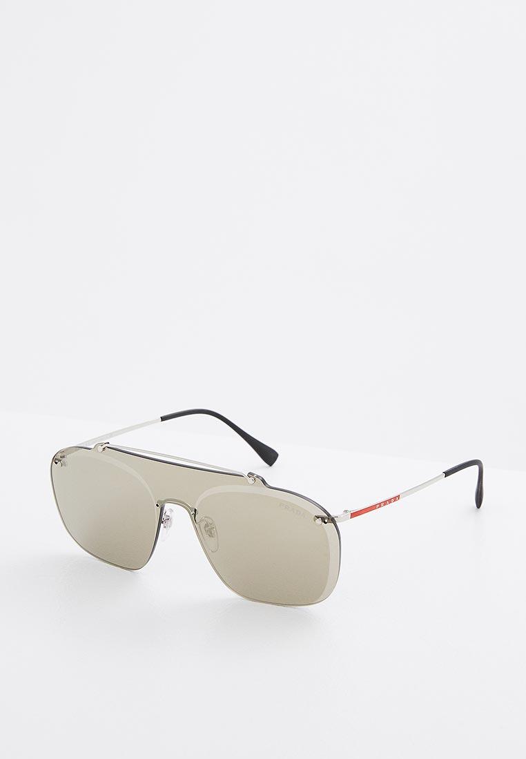 Мужские солнцезащитные очки Prada Linea Rossa 0PS 51TS