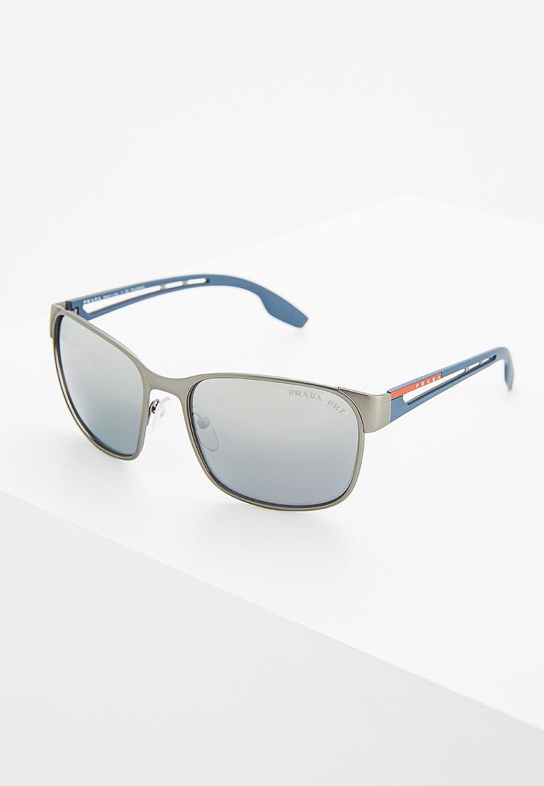 Мужские солнцезащитные очки Prada Linea Rossa 0PS 52TS