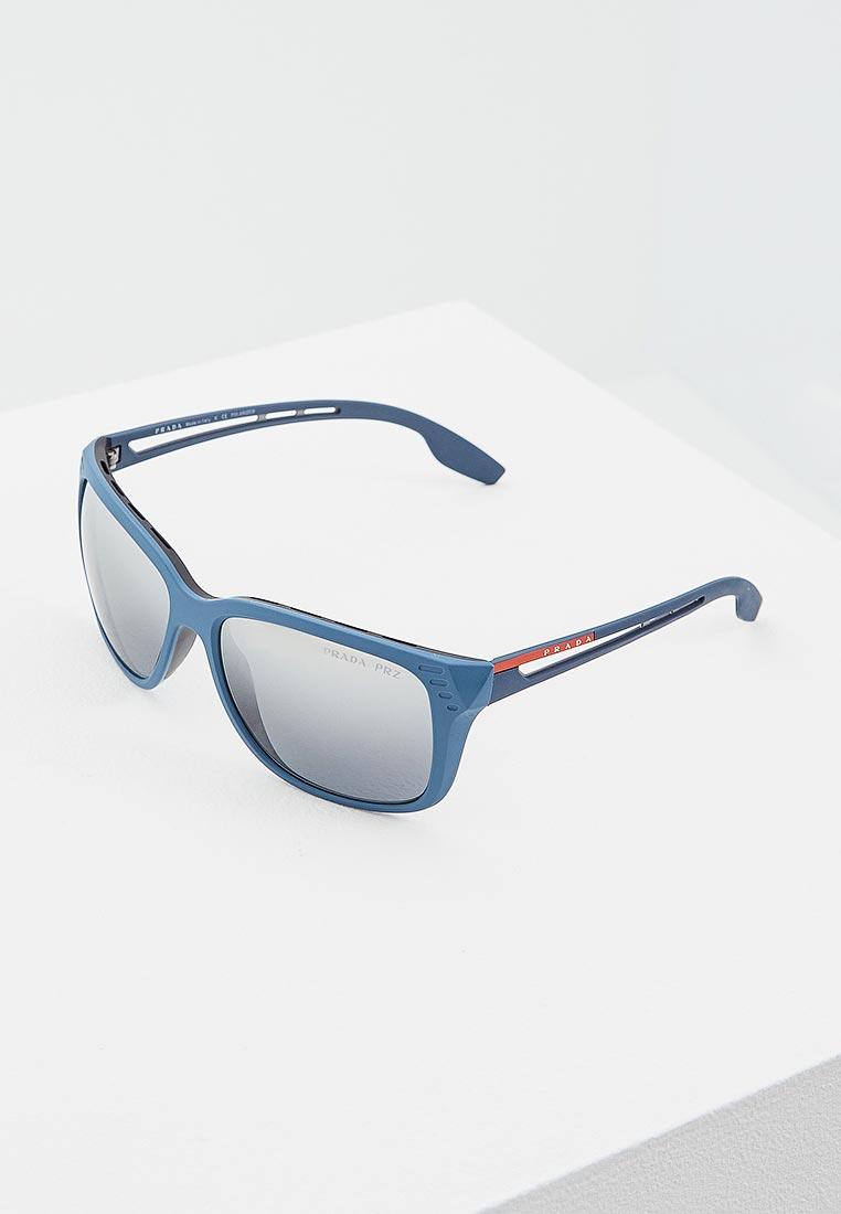 Мужские солнцезащитные очки Prada Linea Rossa 0PS 03TS