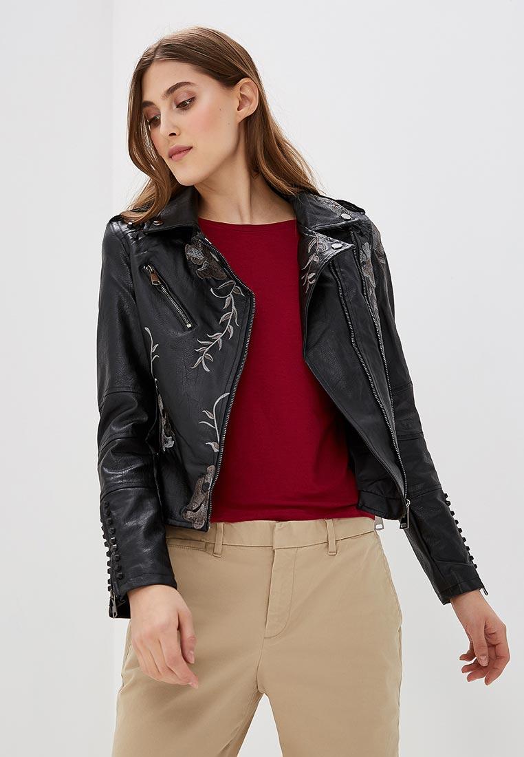 Кожаная куртка QED London NL1128