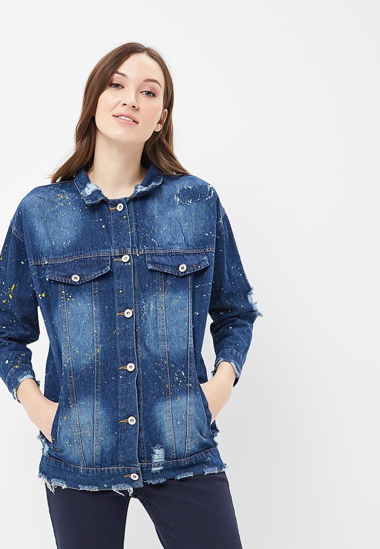 Джинсовая куртка QED London QED0292