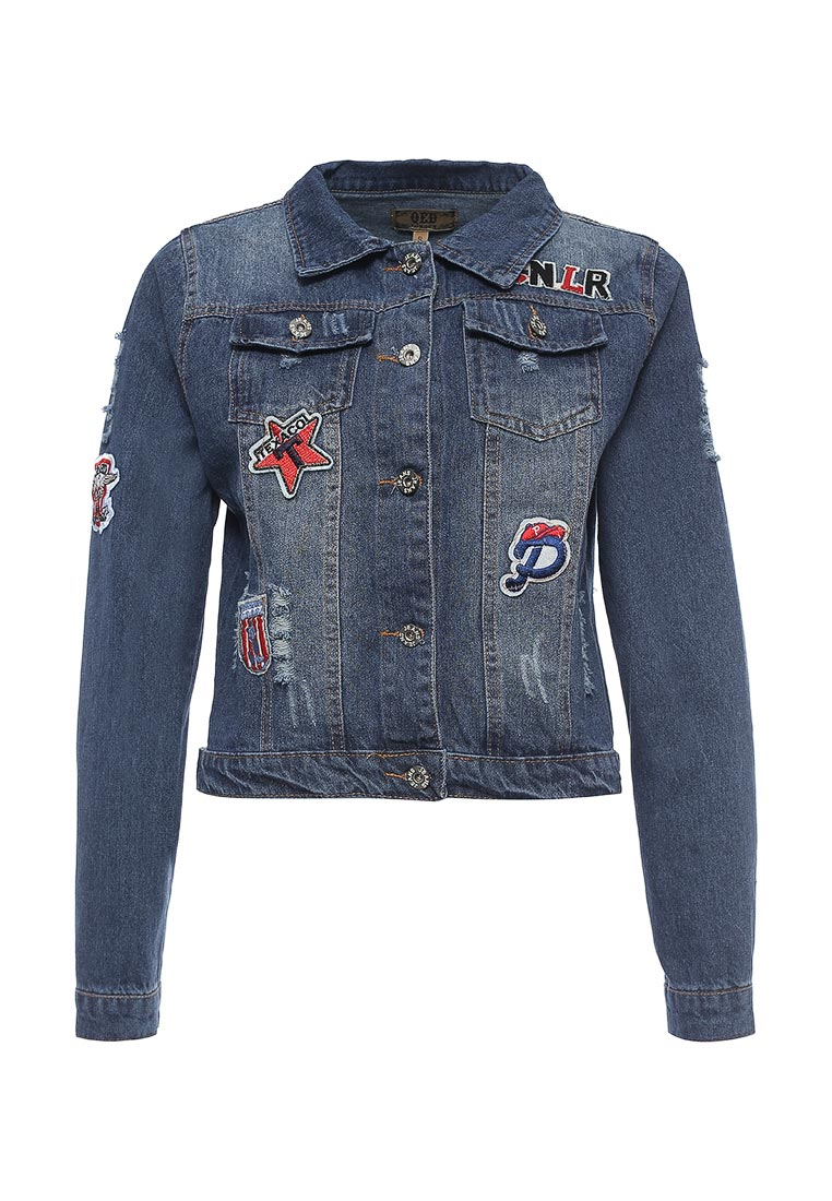 Джинсовая куртка QED London QED0177