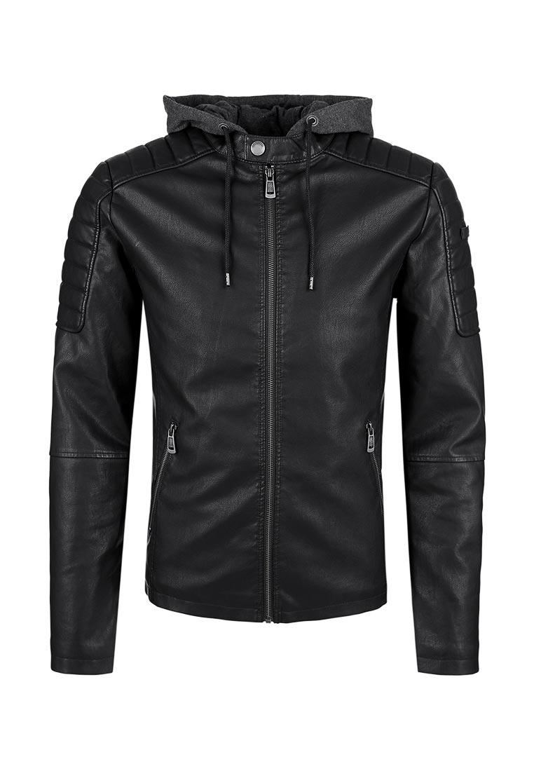 Кожаная куртка Q/S designed by 47.708.51.2775