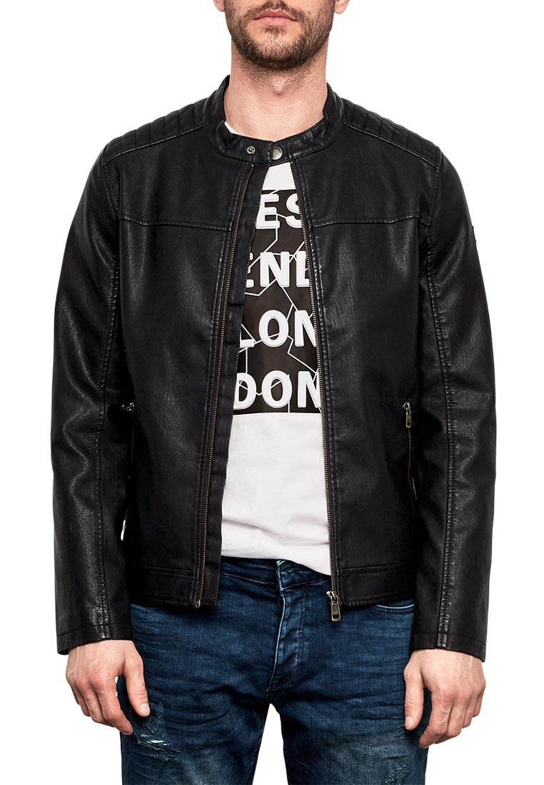 Кожаная куртка Q/S designed by 47.802.51.4956