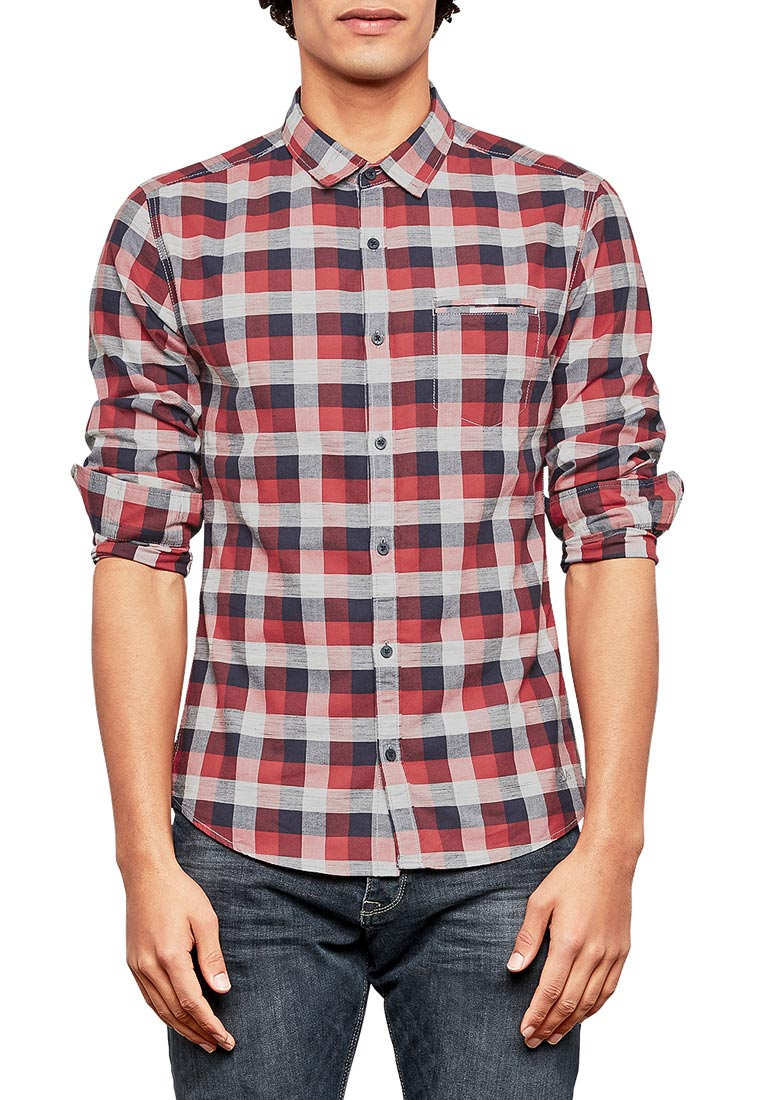 Рубашка с длинным рукавом Q/S designed by 40.801.21.6042